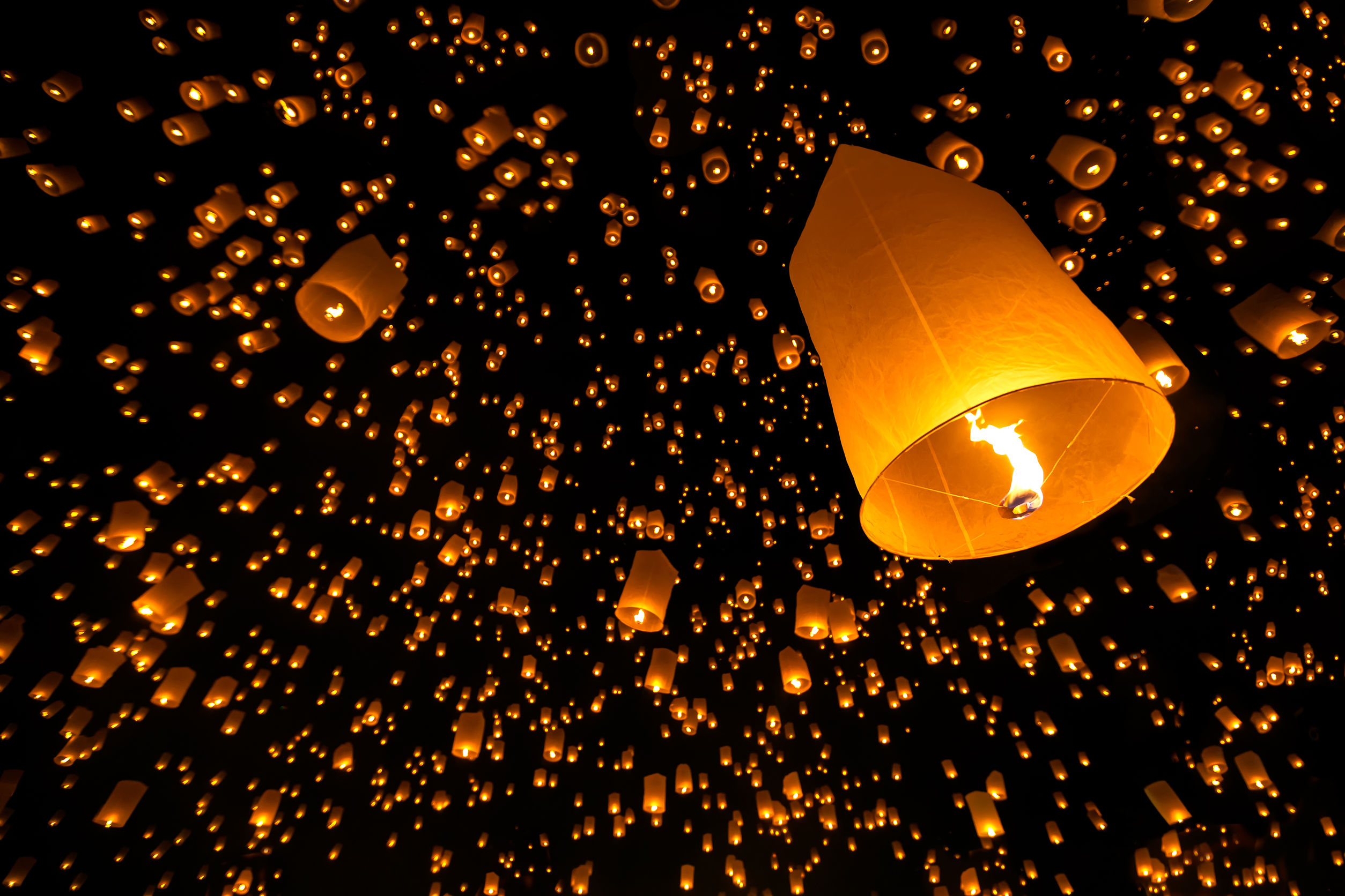 night sky lanterns 10 quotes to help you letting go