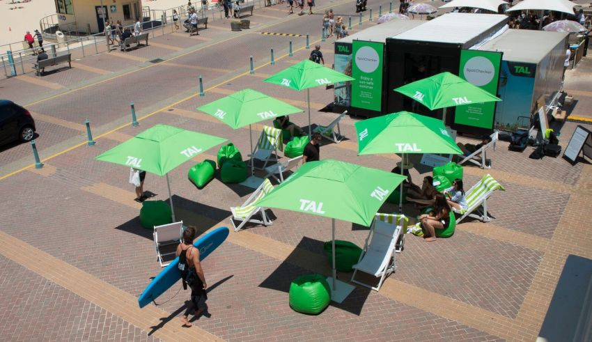 tal green beach umbrellas foldable chairs 3rd year of national skin check tal spotchecker